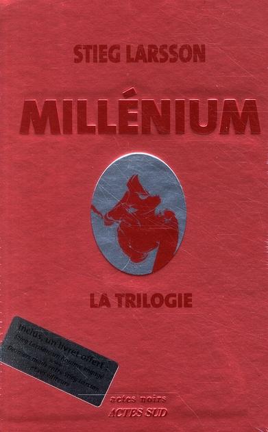 Millénium ; COFFRET ; la trilogie
