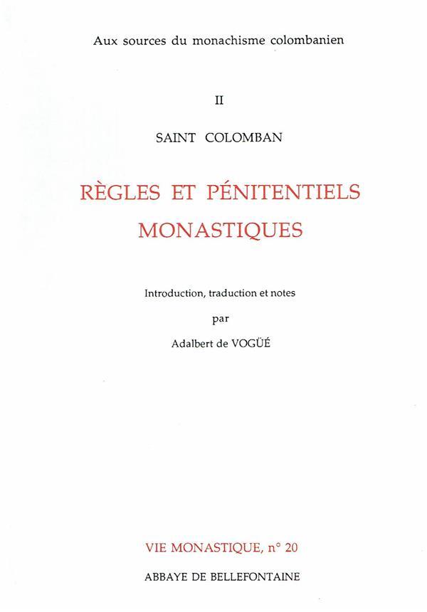 Regles et penitentiels monastiques
