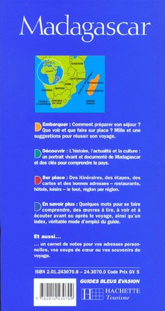 Guide evasion ; madagascar