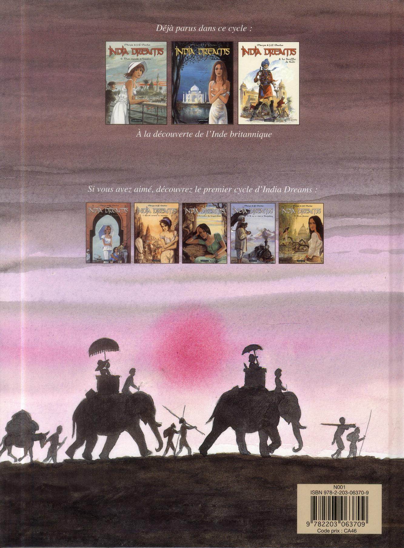 India dreams t.8 ; le souffle de Kali