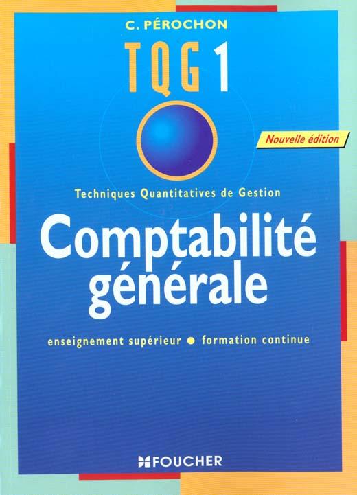 Tqg Comptabilite Generale