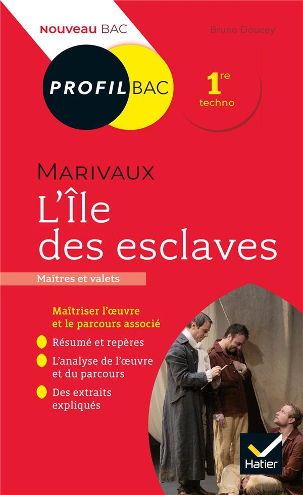 L'ILE DES ESCLAVES, DE MARIVAUX