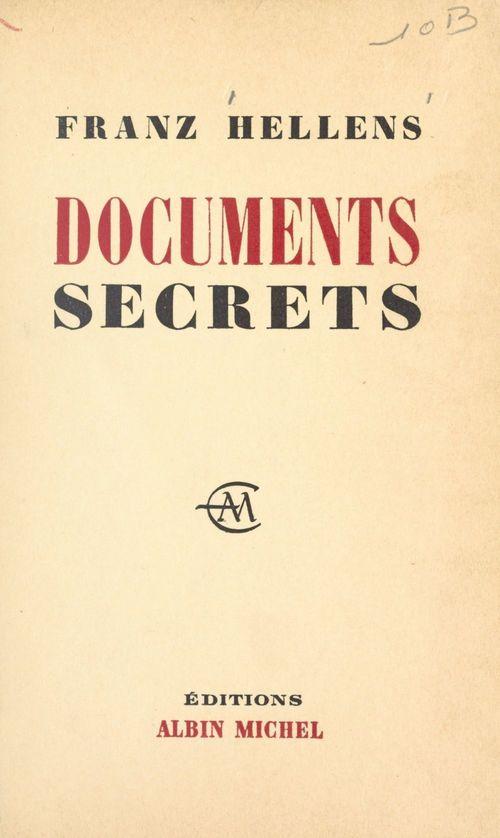Documents secrets, 1905-1956