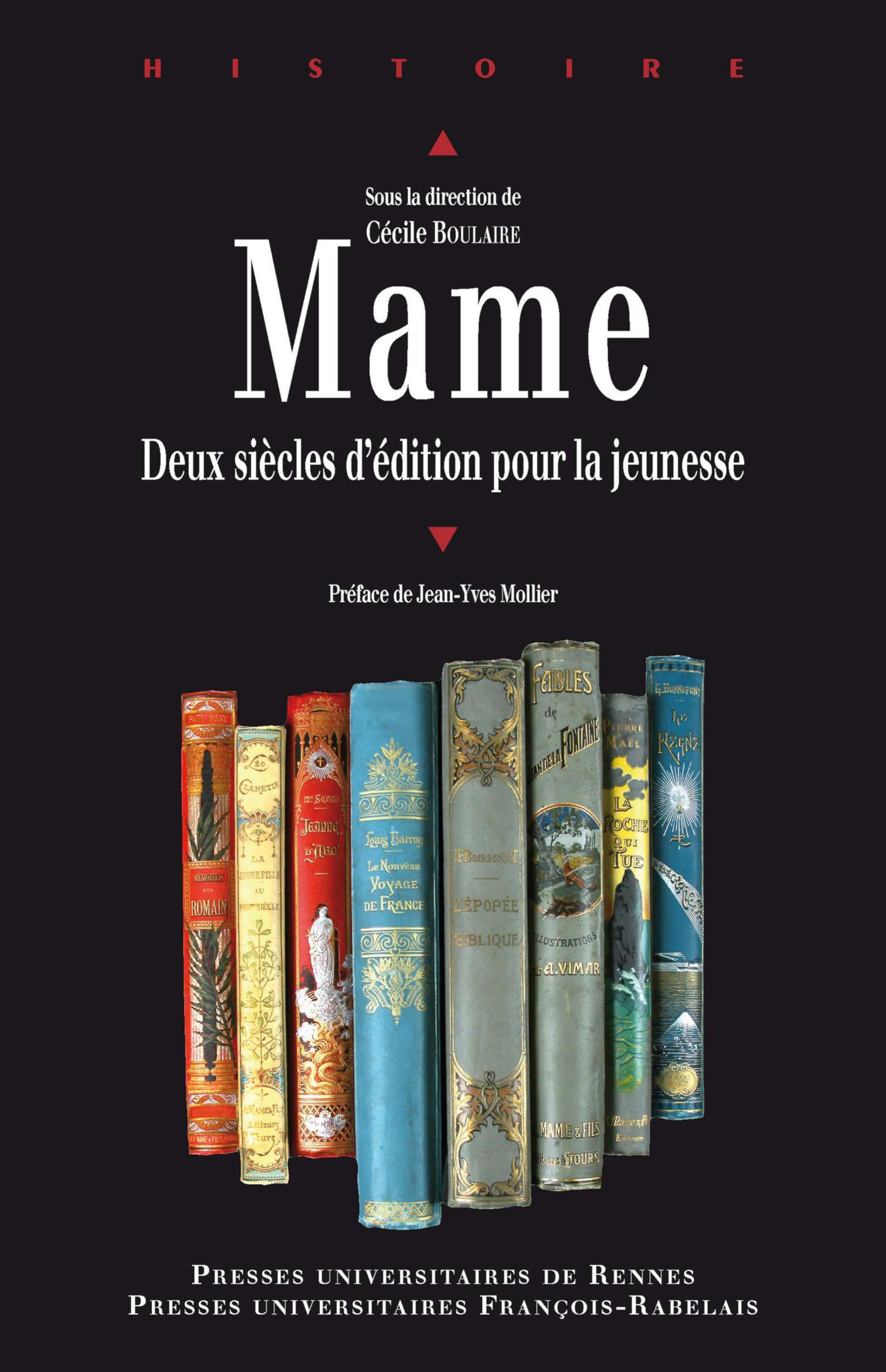 Mame ; deux siècles d'édition pour la jeunesse