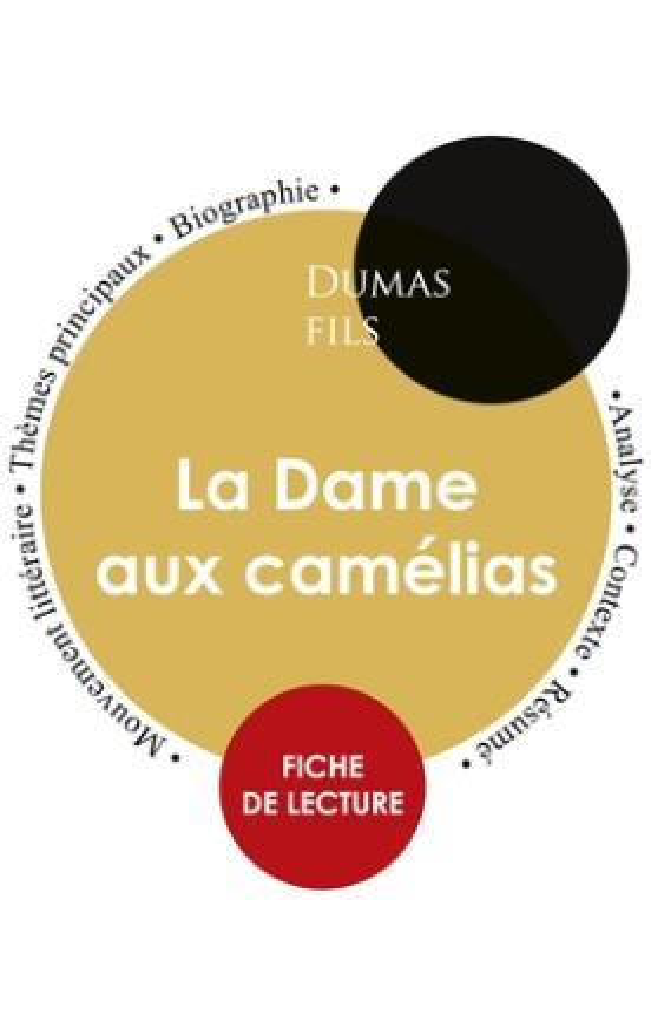 Fiche de lecture La dame aux camélias (étude intégrale)