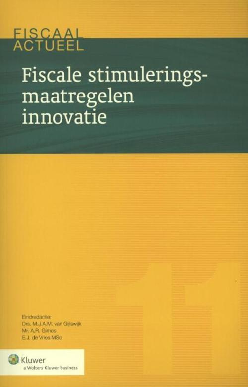 Fiscale stimuleringsmaatregelen innovatie
