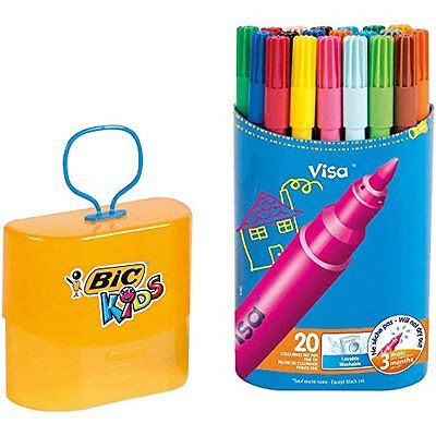 FEUTRE DE COLORIAGE BIC KIDS VISA - PACK DURABLE