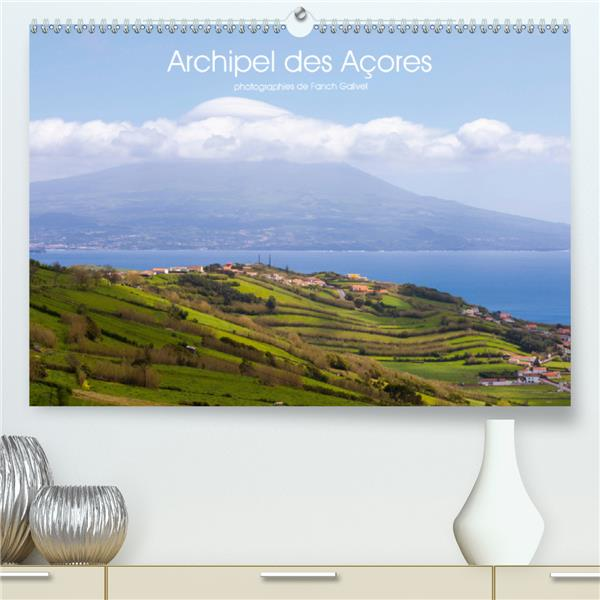 Archipel des Açores (premium, hochwertiger din a2 wandkalender 2021, kunstdruck in hochglanz) - pays