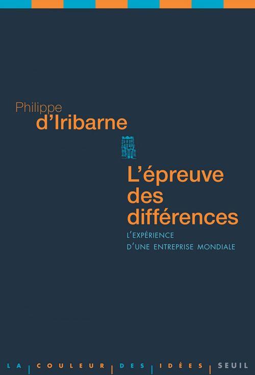 L'épreuve des différences ; l'expérience d'une entreprise mondiale