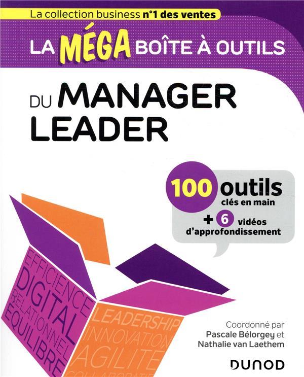 LA MEGA BOITE A OUTILS  -  DU MANAGER LEADER  -  100 OUTILS