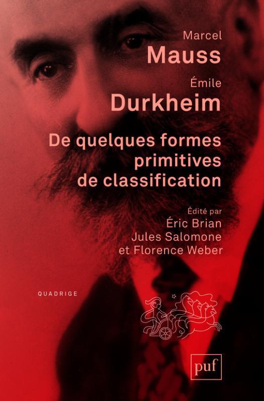 DE QUELQUES FORMES PRIMITIVES DE CLASSIFICATION