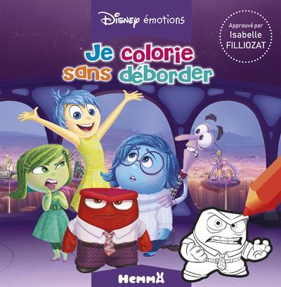 Je colorie sans déborder ; Disney Pixar