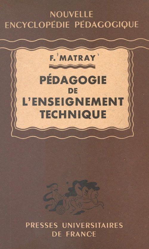 Pédagogie de l'enseignement technique