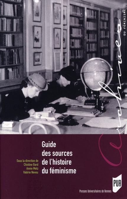 guide des sources de l'histoire du féminisme