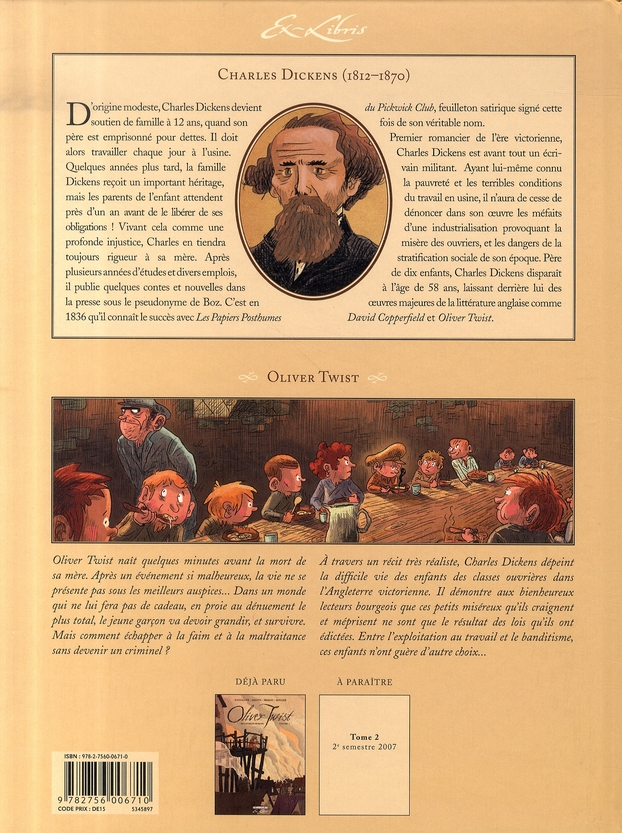 Oliver Twist, de Charles Dickens T.1