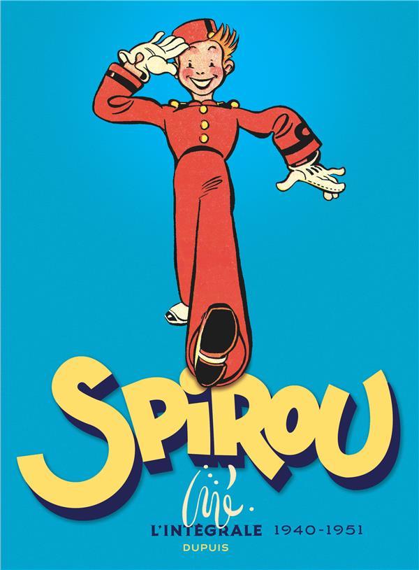 Spirou par Jijé ; intégrale ; 1940-1952