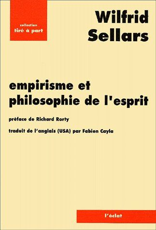 Empirisme et philosophie de l'esprit