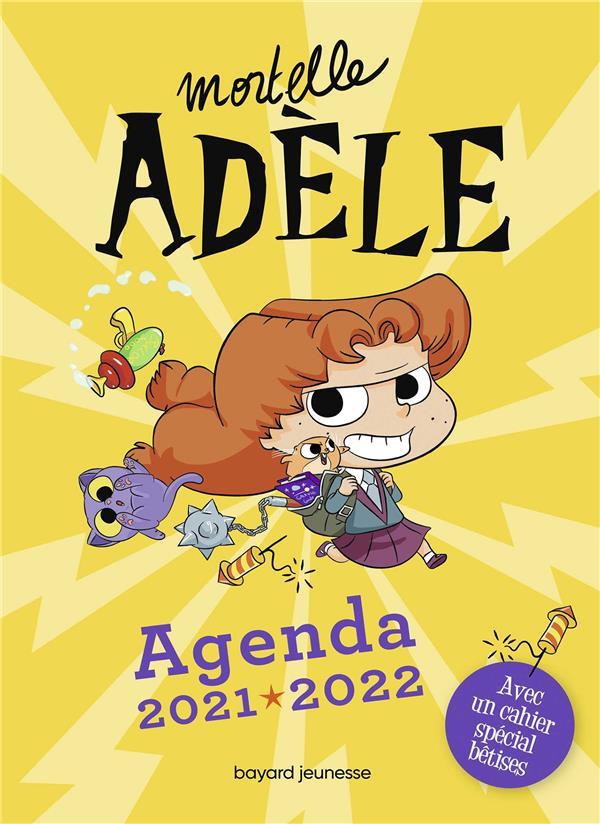 Mortelle Adèle ; agenda (édition 2021/2022)