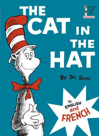 The cat in the hat - in english and french