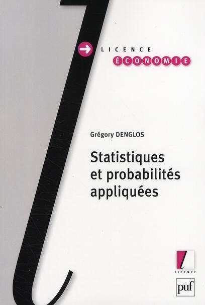 Statistiques Et Probabilites Appliquees