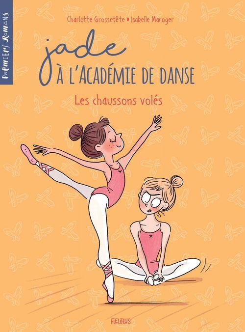 Jade à l'académie de danse T.4 ; les chaussons volés