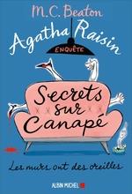 Vente Livre Numérique : Agatha Raisin enquête 26 - Secrets sur canapé  - M. C. Beaton