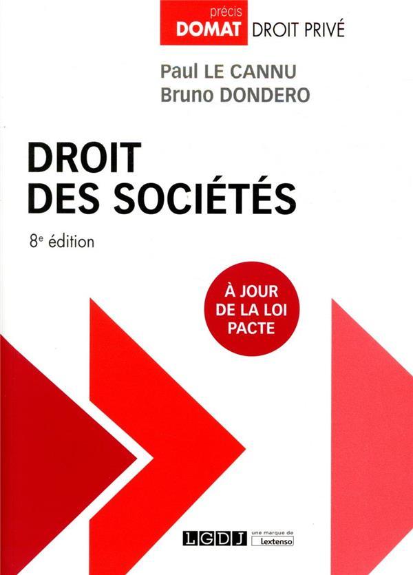 Droit des sociétés (8e édition)