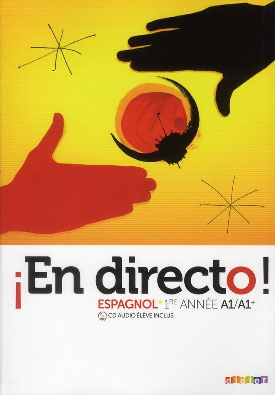 En Directo; Espagnol ; 4e ; Livre De L'Eleve