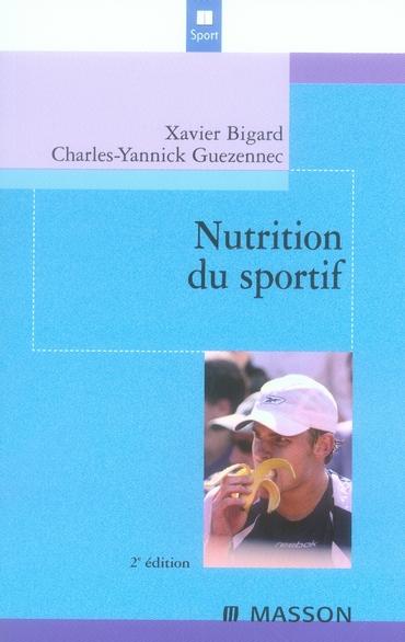 La nutrition du sportif (2e édition)