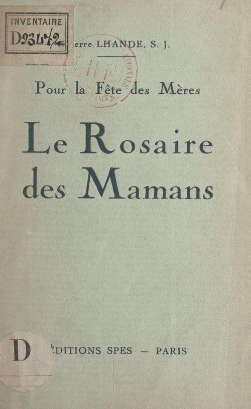 Le Rosaire des mamans