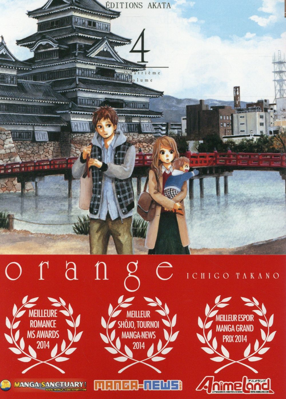 ORANGE - TOME 4 - VOL04 Takano Ichigo
