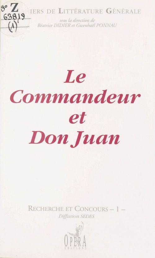 Le commandeur de don juan