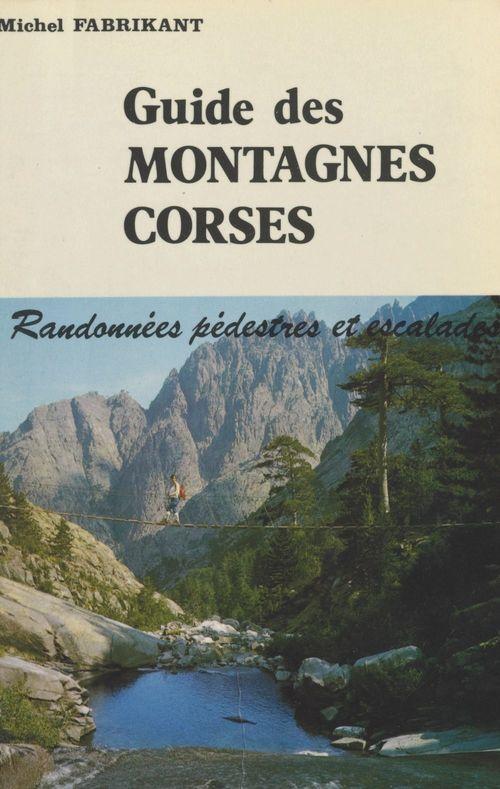Guide des montagnes corses