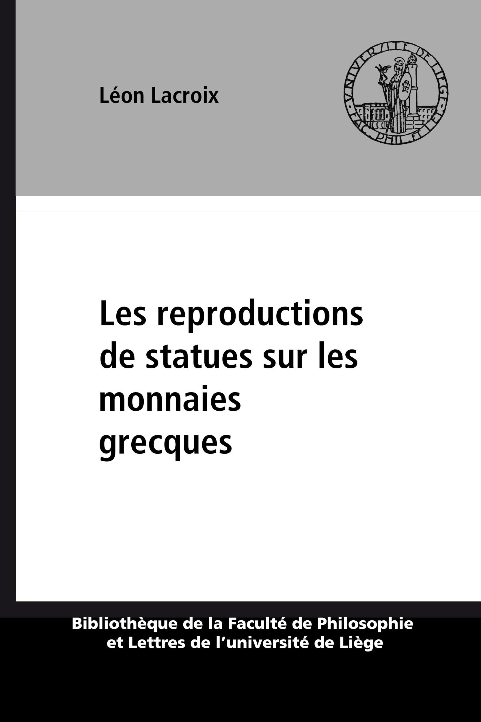 Les reproductions de statues sur les monnaies grecques