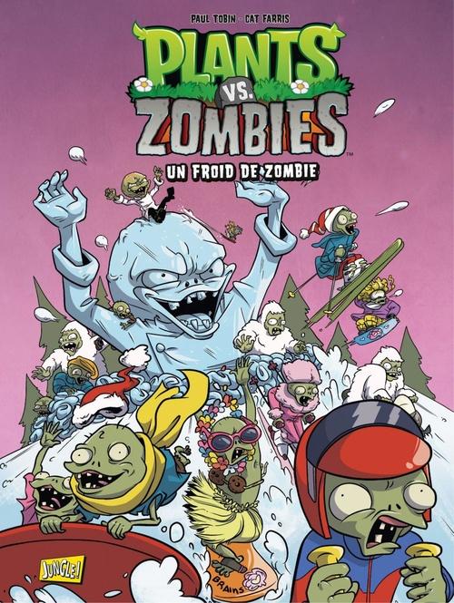 Plants vs zombies T.13 ; un froid de zombie