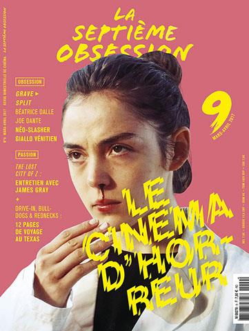 La septieme obsession n.9 ; le cinema d'horreur