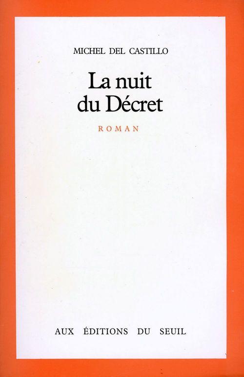 La Nuit du Décret - Prix Renaudot 1981