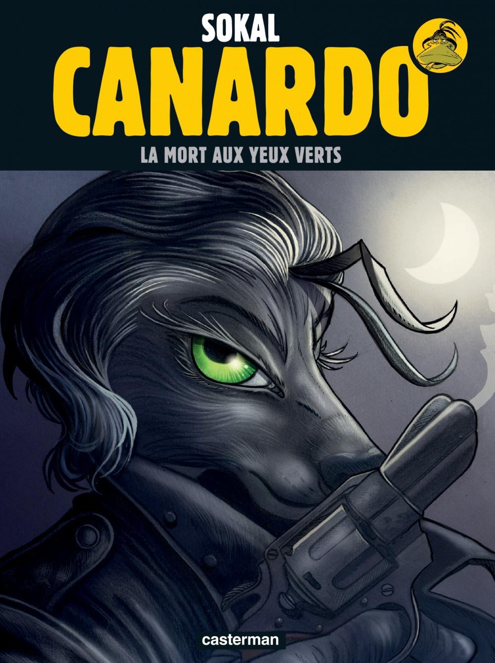 Canardo T.24 ; la mort aux yeux verts