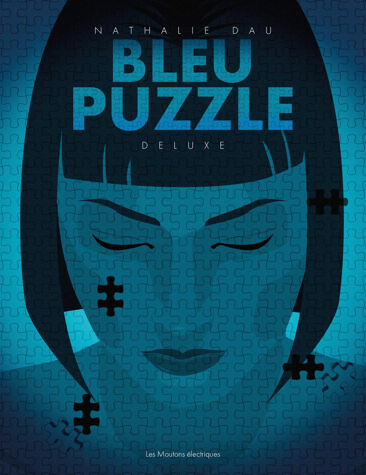 Bleu puzzle  - Nathalie Dau