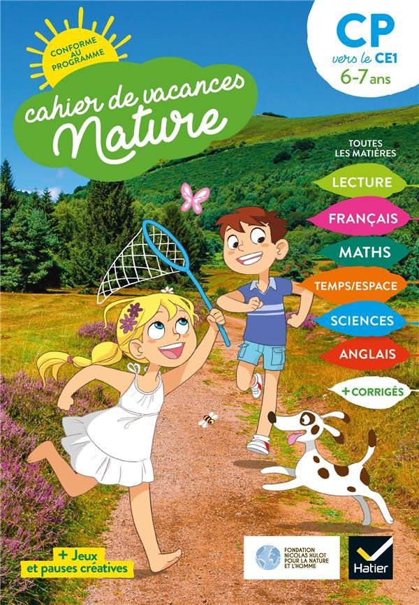 Cahier de vacances nature ; du CP au CE1 (édition 2020)