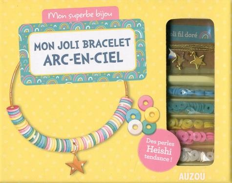 Mon joli bracelet arc-en-ciel