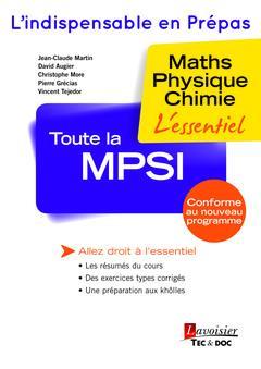 Toute la MPSI