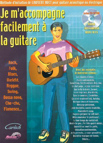 Je m'accompagne facilement à la guitare