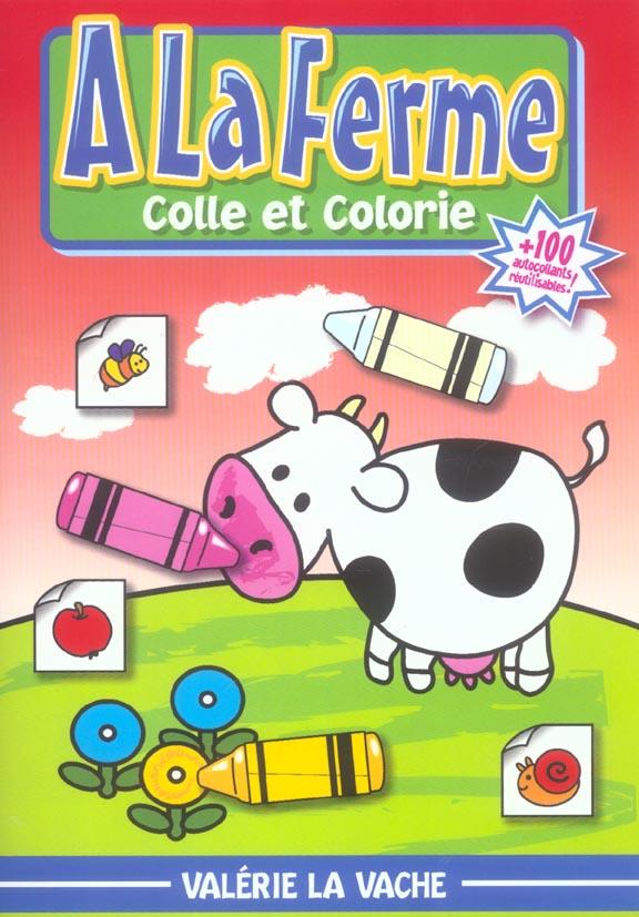 A la ferme valerie la vache