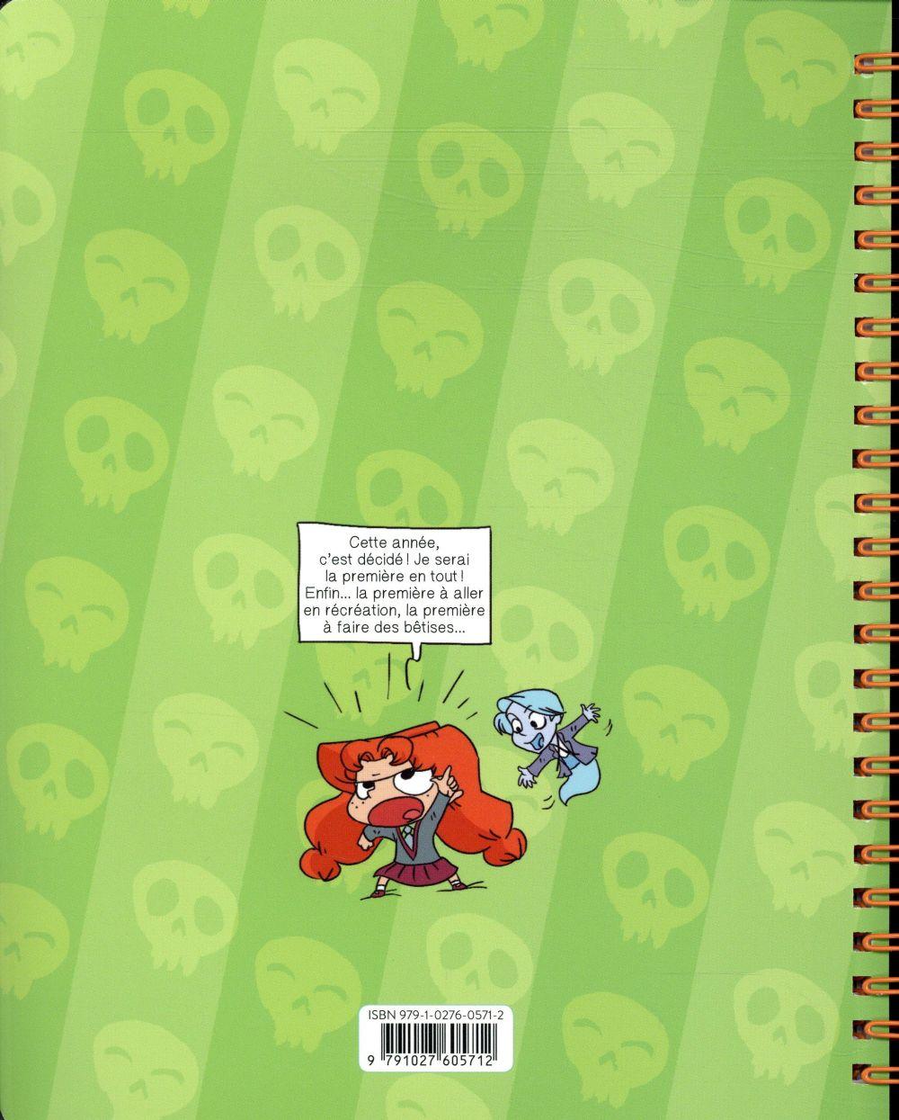 Mortelle Adèle ; le cahier de textes