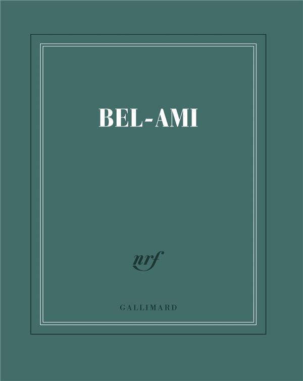 Carnet carré ligné Bel Ami