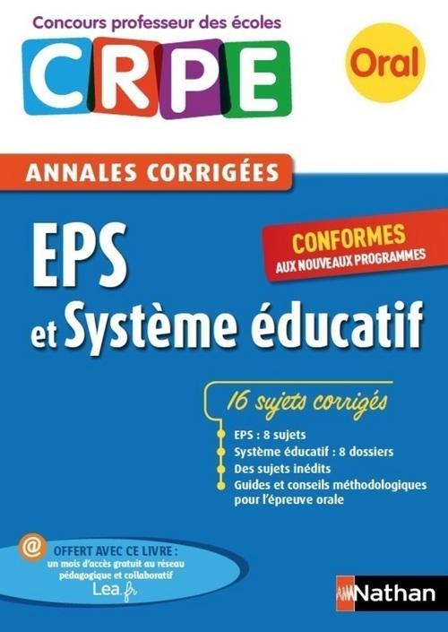 Ebook - Annales CRPE : EPS et Système éducatif