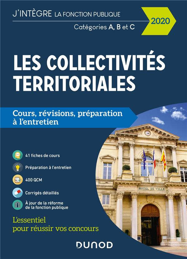 LES COLLECTIVITES TERRITORIALES  -  CATEGORIES A, B, C (EDITION 2020)