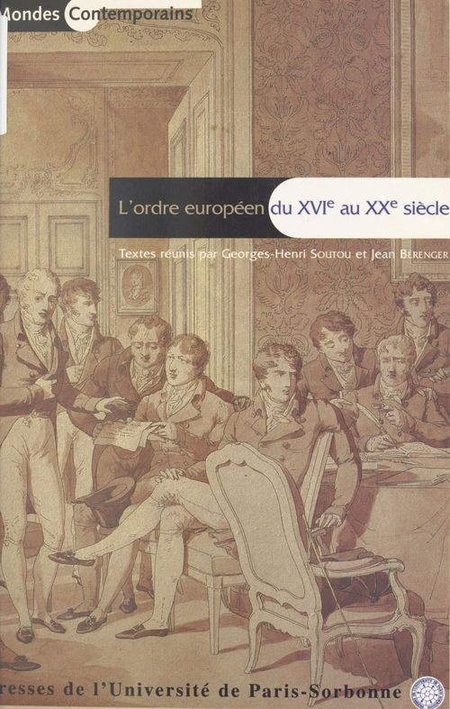 Ordre europeen du xvie au xxe siecle