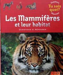 Les mammifères et leur habitat